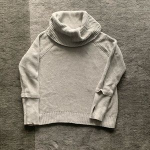 41 Hawthorne Sharon Thumb Cowl Knit Sweater